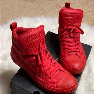 Converse Shoes | Red Converse High Top